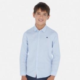 Koszula z długim rękawem chłopięca Mayoral 6155-52 Błękitny