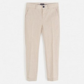 Spodnie eleganckie chłopięce Mayoral 6518-70 Beżowy