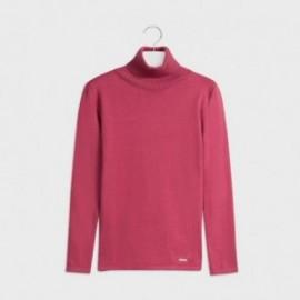 Sweter golf dla dziewczynki Mayoral 345-24 różowy