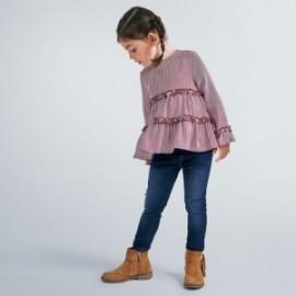 Spodnie jeans dziewczęce Mayoral 577-10 granat