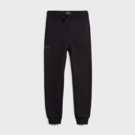 Długie spodnie dresowe dla chłopca Mayoral 705-55 czarny