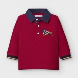 Koszulka polo chłopięca Mayoral 2126-19 Bordowa