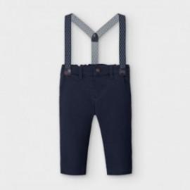 Spodnie z szelkami dla chłopców Mayoral 2575-82 Granatowa