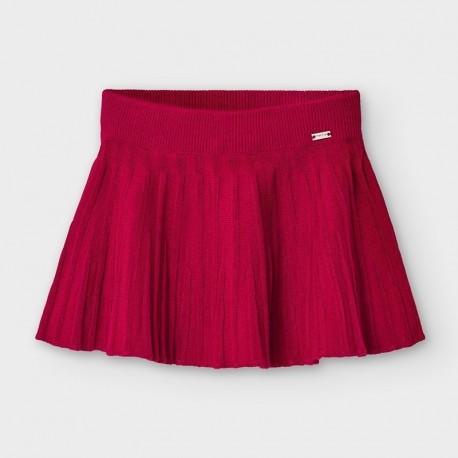 Spódnica trykotowa dla dziewczynek Mayoral 2938-54 czerwona