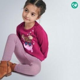 Koszulka z długim rękawem dziewczynka Mayoral 4070-48 bordowa