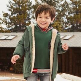 Bluza z kapturem dla chłopca Mayoral 4462-36 Zielony