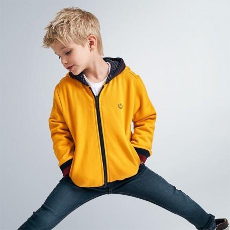 Bluza z kapturem chłopięca Mayoral 4486-26 Żółty