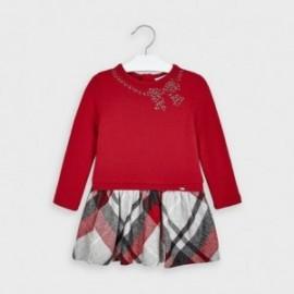 Sukienka elegancka dla dziewczynek Mayoral 4961-65 czerwona