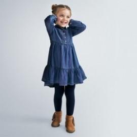 Sukienka jeansowa dziewczęca Mayoral 4980-5 niebieska