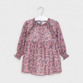 Sukienka codzienna dla dziewczynki Mayoral 4971-27 wiśniowa