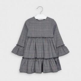 Sukienka w kratę dla dziewczynek Mayoral 4983-26 Granatowy