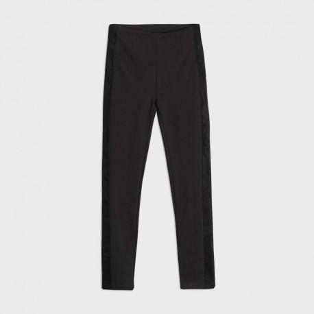 Spodnie długie dla dziewczyn Mayoral 7537-53 Czarny