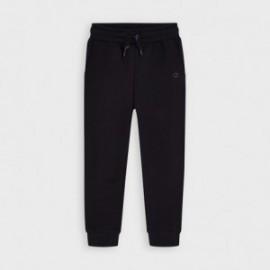 Długie spodnie dresowe chłopięce Mayoral 725-80 czarne