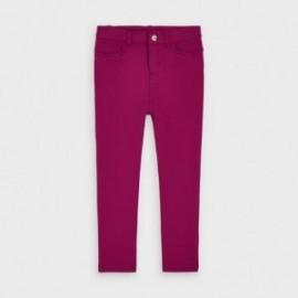 Spodnie dzianinowe dla dziewczynki Mayoral 511-88 Wiśniowe