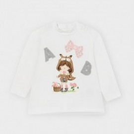 Półgolf dla dziewczynki Mayoral 2052-85 różowy