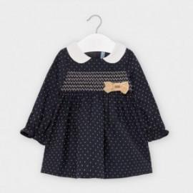 Sukienka w kropki dziewczęca Mayoral 2956-69 Granatowy