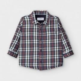 Koszula w kratę chłopięca Mayoral 2127-4 Granatowy