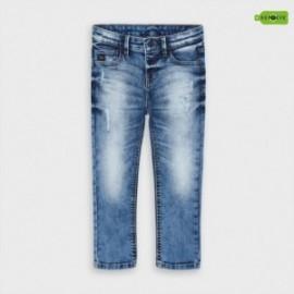 Spodnie jeansowe dla chłopców Mayoral 4536-15 niebieskie