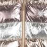 Kurtka metaliczna dziewczęca Mayoral 7418-58 stare złoto