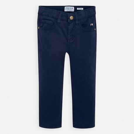 Spodnie gładkie dla chłopców Mayoral 509-15 granat