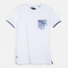 Koszulka sportowa dla chłopca Mayoral 6064-56 Biały