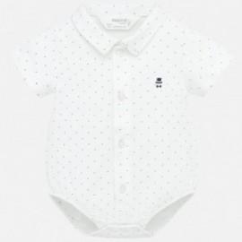 Body koszulowe chłopięce Mayoral 1787-47 Biały