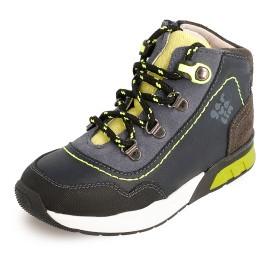 Sneakersy wysokie chłopięce Garvalin 201422 kolor granat