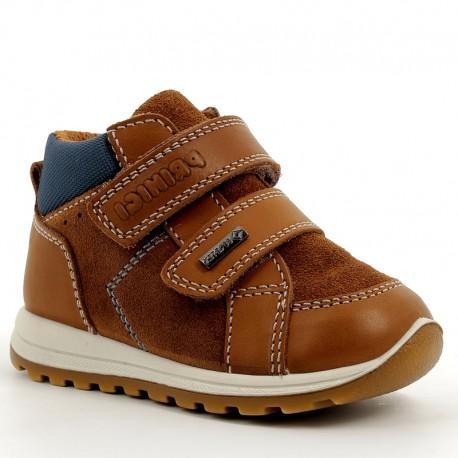 Sneakersy chłopięce Primigi 6356800 brązowe