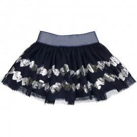 Spódnica tiulowa dla dziewczynki Birba 95002-70M granat