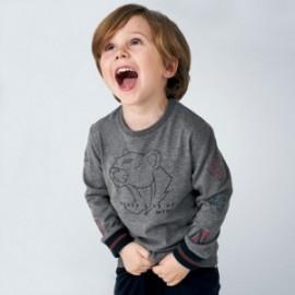 Koszulka z długim rękawem chłopięca Mayoral 4044-47 Szary