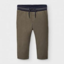 Spodnie chino dla chłopców Mayoral 2580-84 brązowe