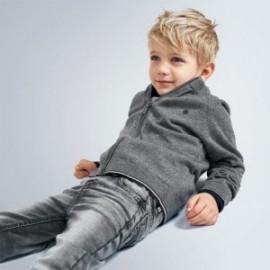 Spodnie jeansy chłopięce Mayoral 4539-82 Szary
