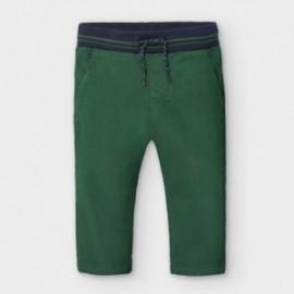 Spodnie chino dla chłopców Mayoral 2580-83 Zielone