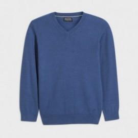 Sweter w serek chłopięcy Mayoral 354-81 Niebieski