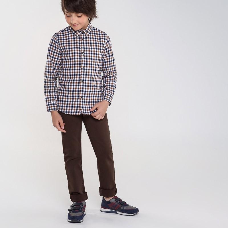 Spodnie dla chłopaka Mayoral 7527-19 Brązowy