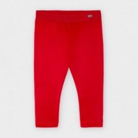 Leginsy aksamitne dla dziewczynki Mayoral 727-30 Czerwony