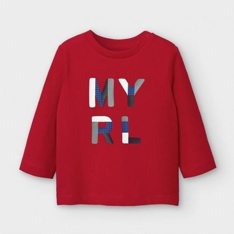 Koszulka z długim rękawem chłopięca Mayoral 108-45 Czerwony