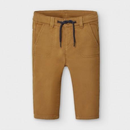 Spodnie dzianinowe chłopięce Mayoral 2581-74 Brąz
