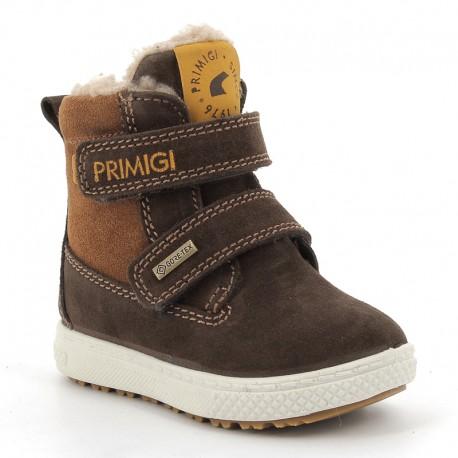 Sneakersy zimowe chłopięce Primigi 6360222 brąz
