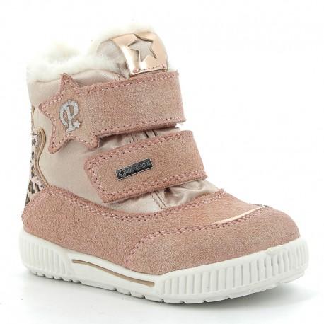 Sneakersy zimowe dziewczęce Primigi 6361400 róż