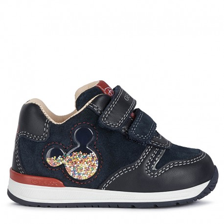 Sneakersy dziewczęce Geox B040RD-02285-C4002 granat