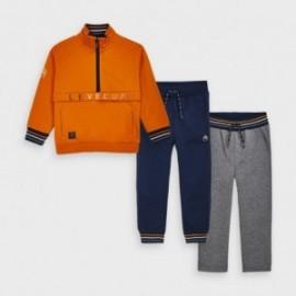 Dres trzyczęściowy dla chłopca Mayoral 4820-17 Pomarańcz