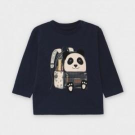 Koszulka z długim rękawem chłopięca Mayoral 2042-84 Granatowy