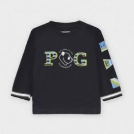 Koszulka z długim rękawem chłopięca Mayoral 2044-35 Granatowy