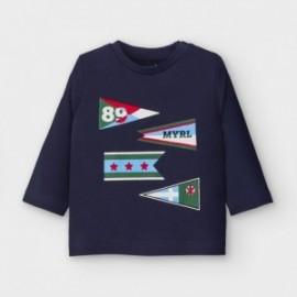 Koszulka z długim rękawem chłopięca Mayoral 2039-36 Granatowy