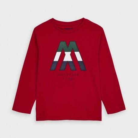 Koszulka z długim rękawem chłopięca Mayoral 4040-61 Czerwony