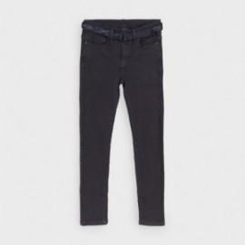 Spodnie z paskiem chłopięce Mayoral 7524-38 Granatowy