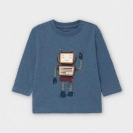 Koszulka z długim rękawem chłopięca Mayoral 2040-73 Grafitowy