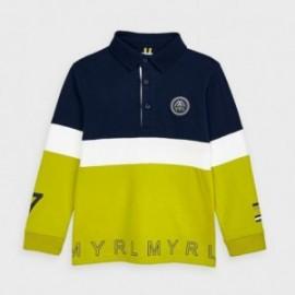 Koszulka polo dla chłopca Mayoral 4129-75 Zielony