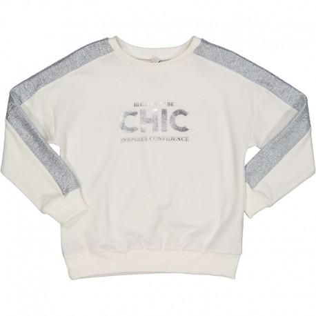 Bluza dziewczęca Trybeyond 96908-10E krem